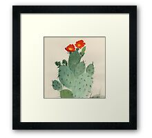 Cactus from Amphai Masquelier Framed Print