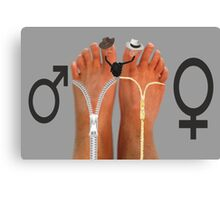 ✾◕‿◕✾FEET EXPRESSIONS BY BONITA CHK OUT VIDEO INSPIRED BY MY FEET EXPRESSIONS HUGS✾◕‿◕✾ Canvas Print