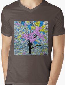 Spring Time in Hawaii Mens V-Neck T-Shirt