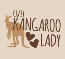 Crazy Kangaroo lady T-Shirt