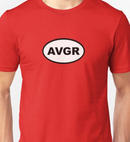 Avenger Marathon Decal Unisex T-Shirt
