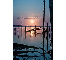 Sunrise over Manasquan Reservoir Photographic Print