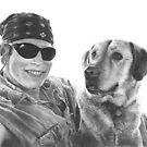 Best Friends-Graphite by Marlene Piccolin