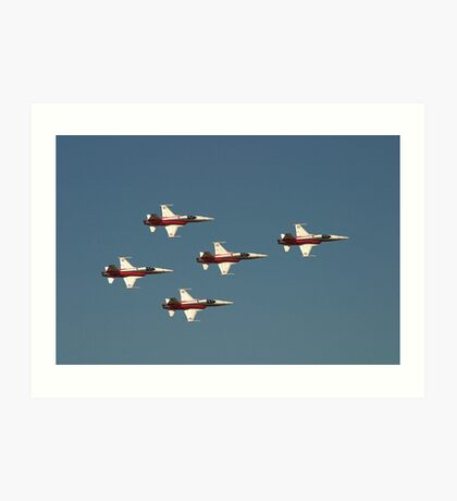 Patrioulle Suisse Display team Art Print