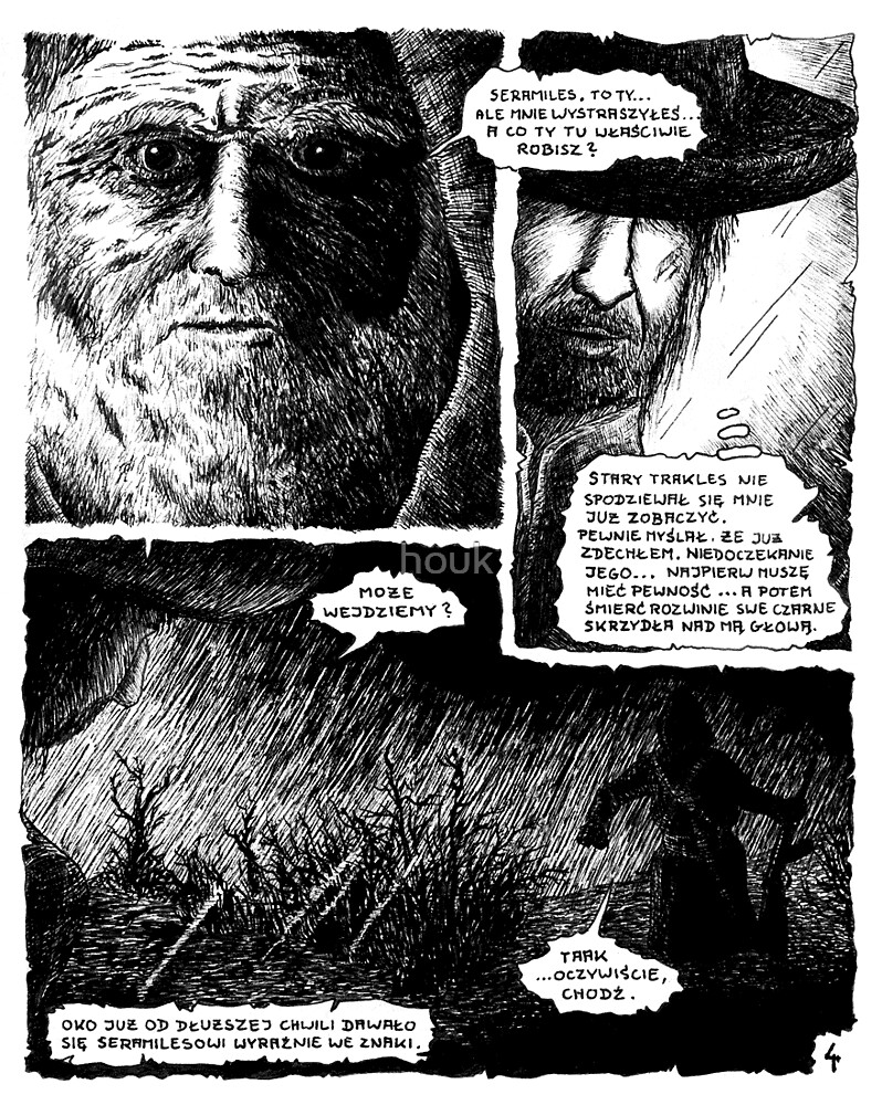 Death... - sample page by houk