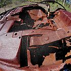 Rusty Car Wreck by rom01