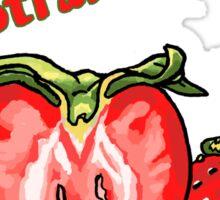 Sweetheart Strawberries Sticker
