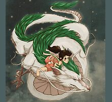 Spirited Away by Kellie Lamphere