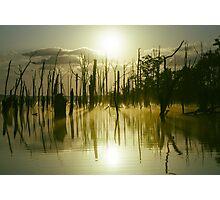Sunrise over Manasquan Reservoir III Photographic Print