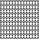 Minimal Diamond Pattern by FreshThreadShop