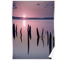 Sunrise over Manasquan Reservoir IV Poster