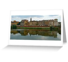 River Arno Greeting Card