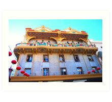 San Francisco China Palace Art Print