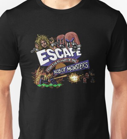 Gaming [C64] - Escape from the Planet of the Robot Monsters Unisex T-Shirt