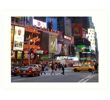 Times Square! Art Print