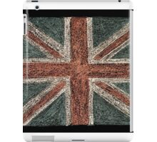 United Kingdom (British Union jack) flag iPad Case/Skin
