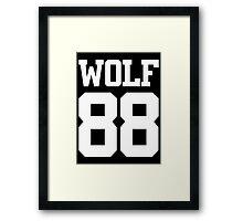 Exo Wolf 88 B Framed Print