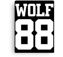 Exo Wolf 88 B Canvas Print