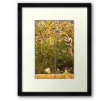 """Thief or Acrobat"" Framed Print"