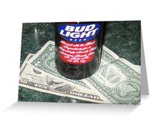 Beer Money Greeting Card