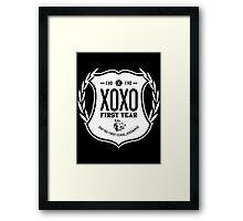 Exo XOXO First Year 2B Framed Print