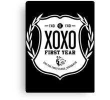 Exo XOXO First Year 2B Canvas Print