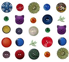 Beautiful Buttons - Multicoloured by MHen