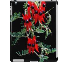 Sturt's Desert Pea iPad Case/Skin