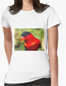 Black-capped Lorry Womens Fitted T-Shirt