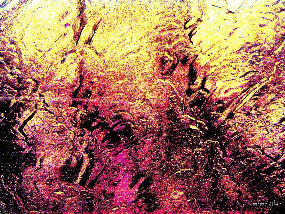 rain on window abstract by mrmc714