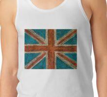 United Kingdom (British Union jack) flag Tank Top