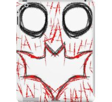 Joker and Batman smiley Face iPad Case/Skin