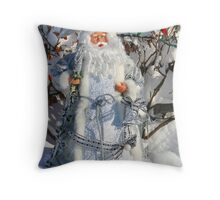 Father Christmas Throw Pillow