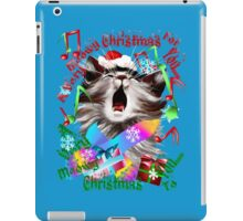 Christmas Carol Kitty iPad Case/Skin