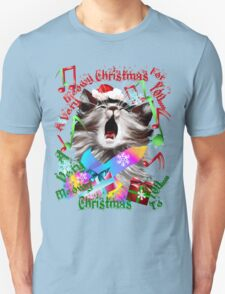 Christmas Carol Kitty Unisex T-Shirt
