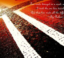 Cross road - card by MEV Photographs