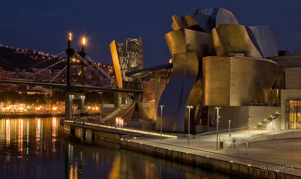 Guggenheim - Bilbao by BrunoMGA