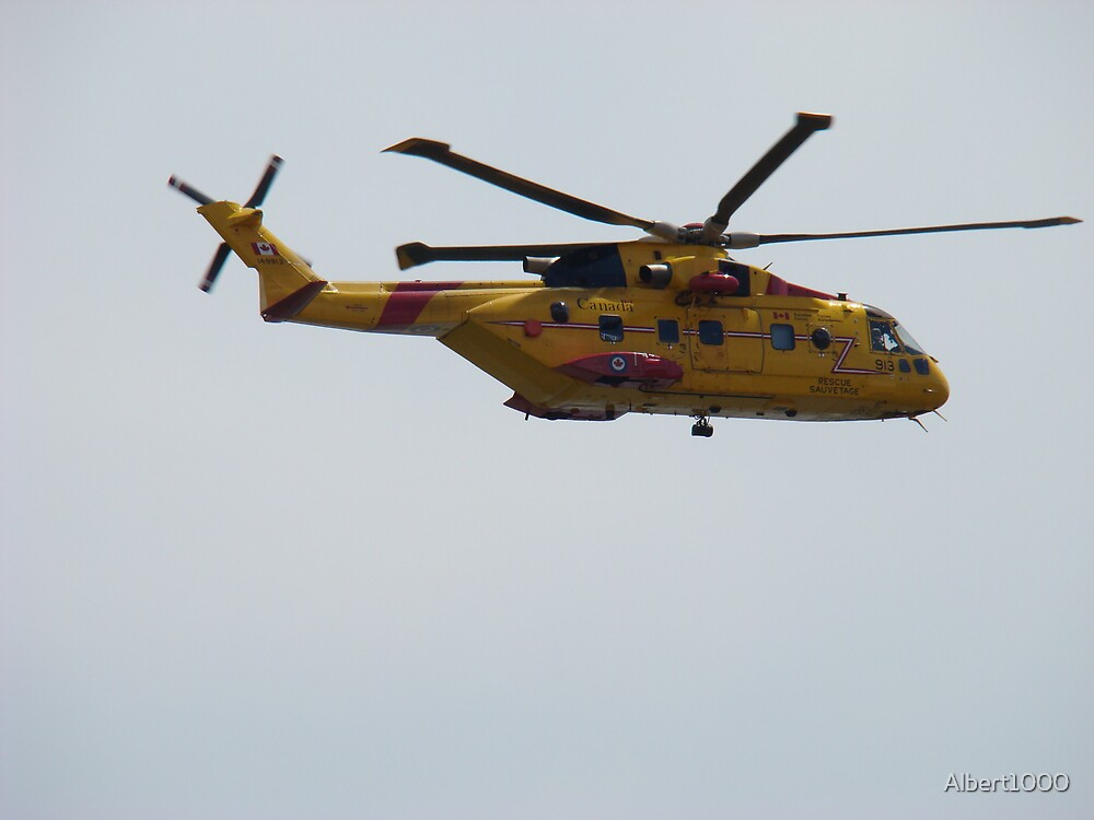 Rescue helicopter #2 by Albert1000