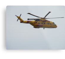 Rescue helicopter #2 Metal Print