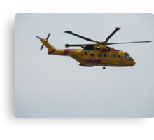 Rescue helicopter #2 Canvas Print