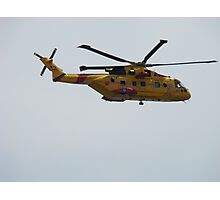 Rescue helicopter #2 Photographic Print