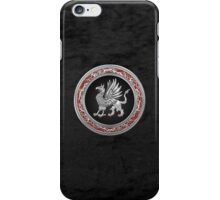 Sacred Silver Griffin  iPhone Case/Skin