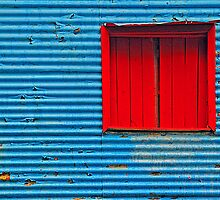 Red Window by Deon de Lange