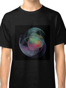 Abstract Art Space Shell Classic T-Shirt