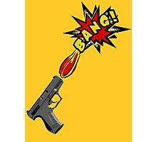 Guns go BANG! Photographic Print