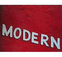 Modern Photographic Print