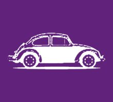 VW 1961 Beetle - White by melodyart