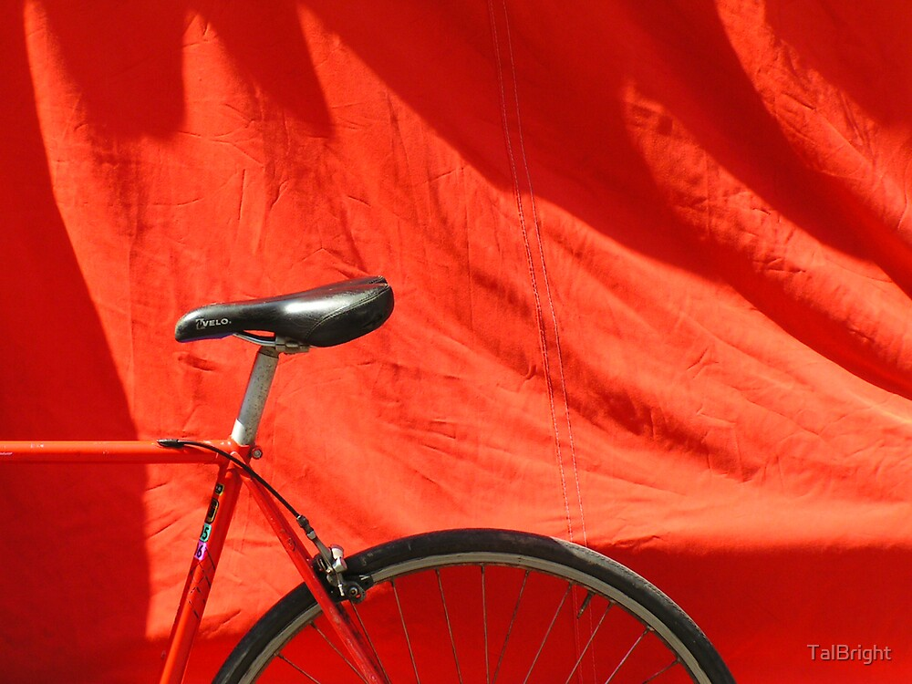 Red Bike by TalBright