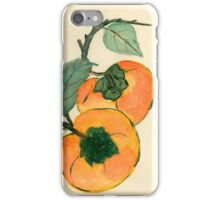 Persimmon from Amphai Masquelier iPhone Case/Skin