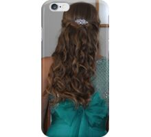 formal hair iPhone Case/Skin